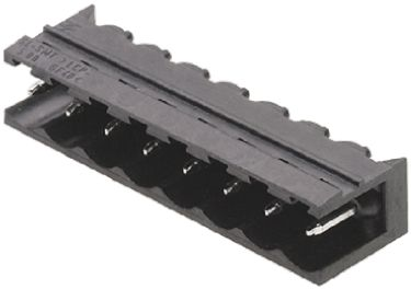 Weidmüller , OMNIMATE SL, 2 Way, 1 Row, Right Angle PCB Header (5)