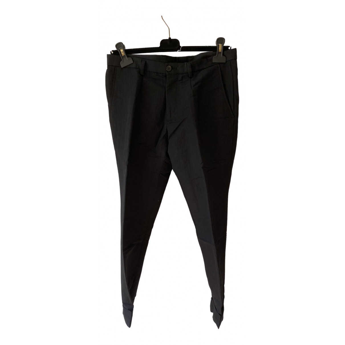 Pantalones en Algodon Marino Kenzo