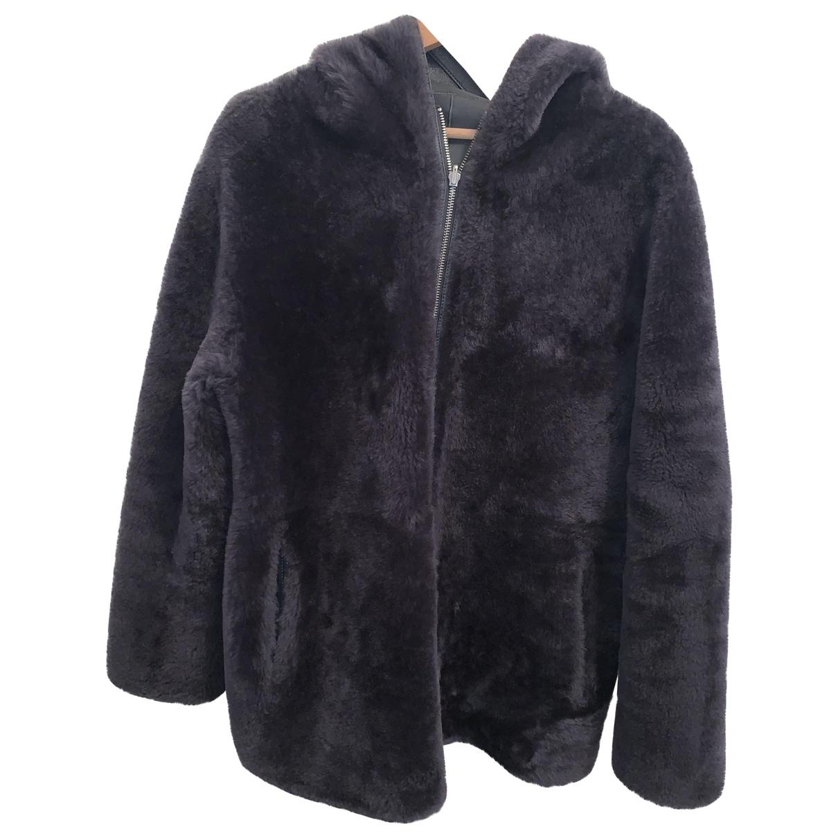 Zapa \N Grey Fur coat for Women 38 FR