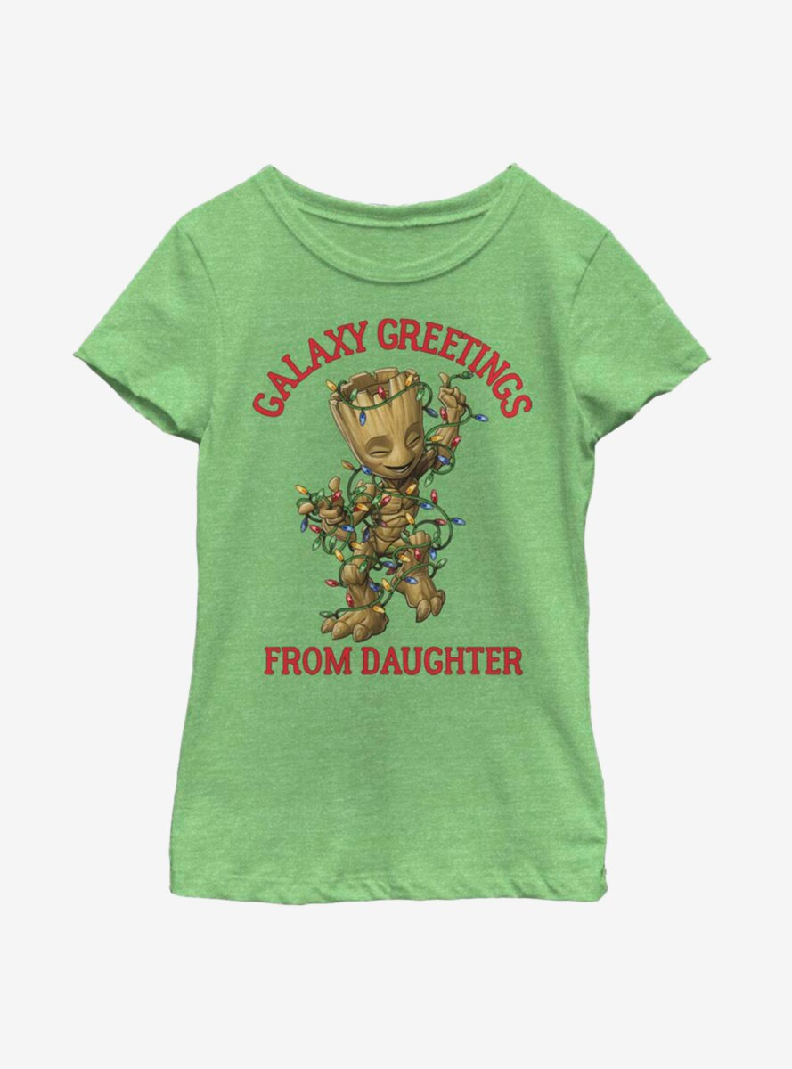 Marvel Guardians Of The Galaxy Groot Daughter Youth Girls T-Shirt