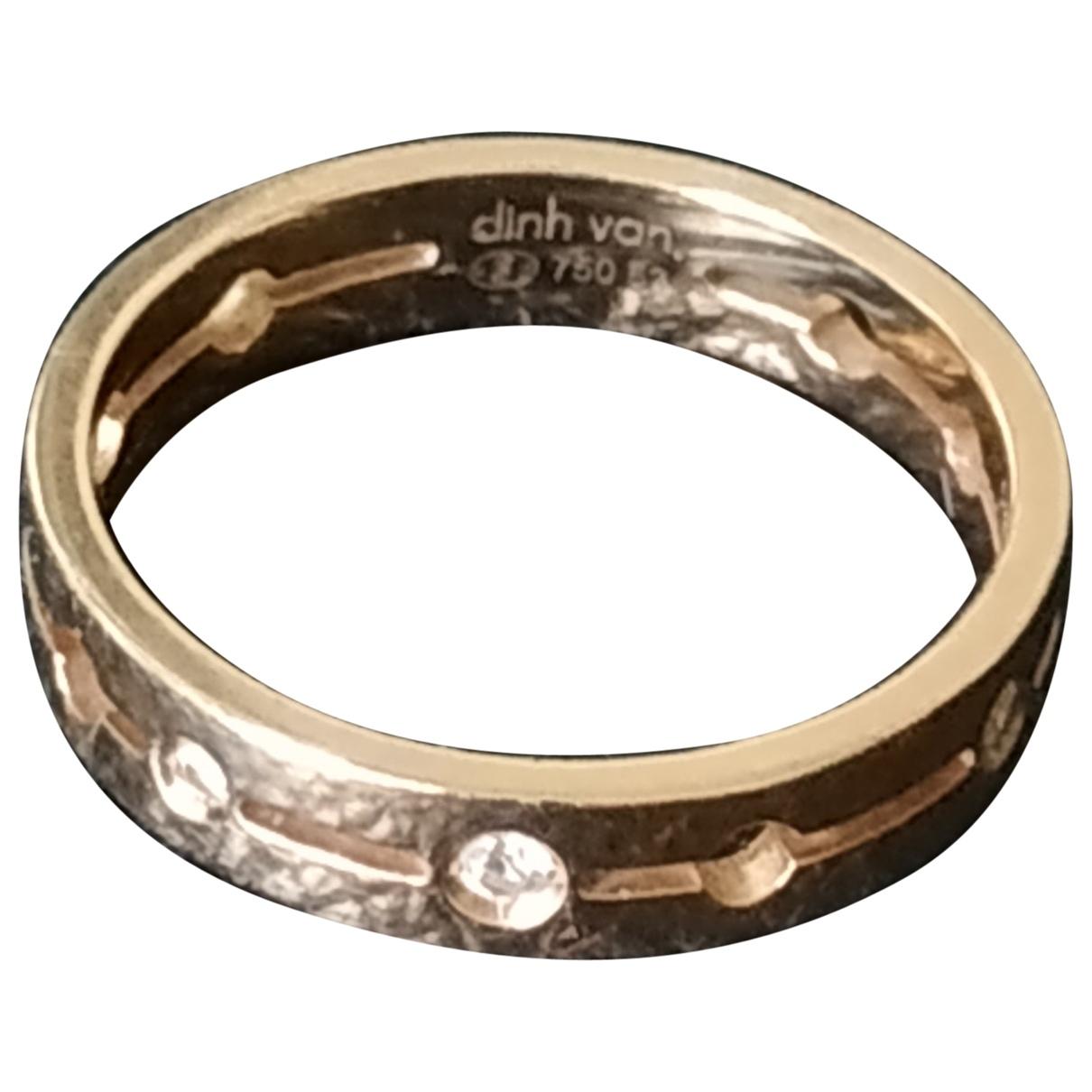 Dinh Van - Bague   pour femme en or rose - rose