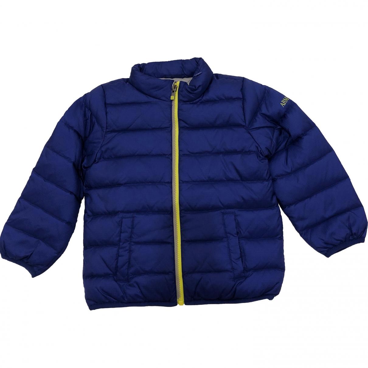 Armani Jeans \N Jacke, Maentel in  Blau Synthetik