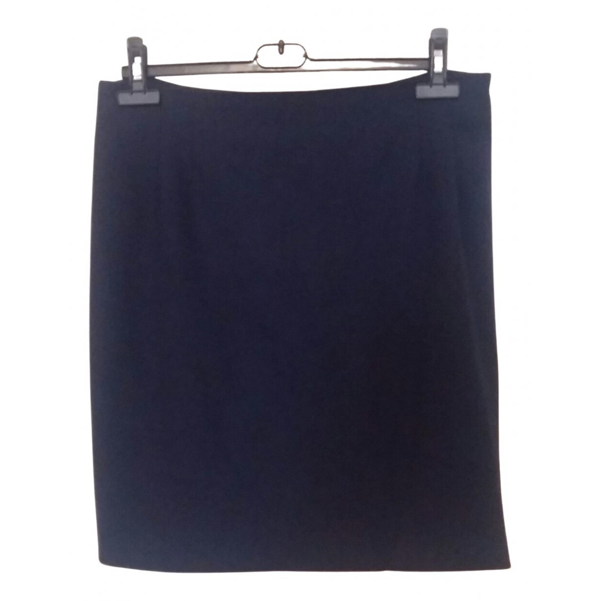 Krizia N Blue Wool skirt for Women 46 IT