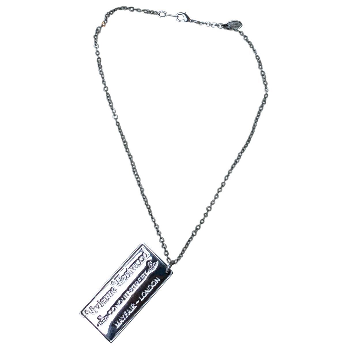 Vivienne Westwood - Collier   pour femme en metal - argente