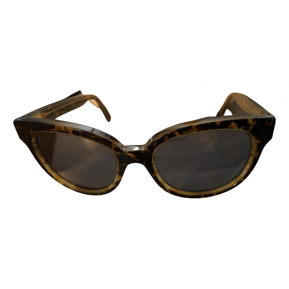 Balenciaga \N Camel Sunglasses for Women \N
