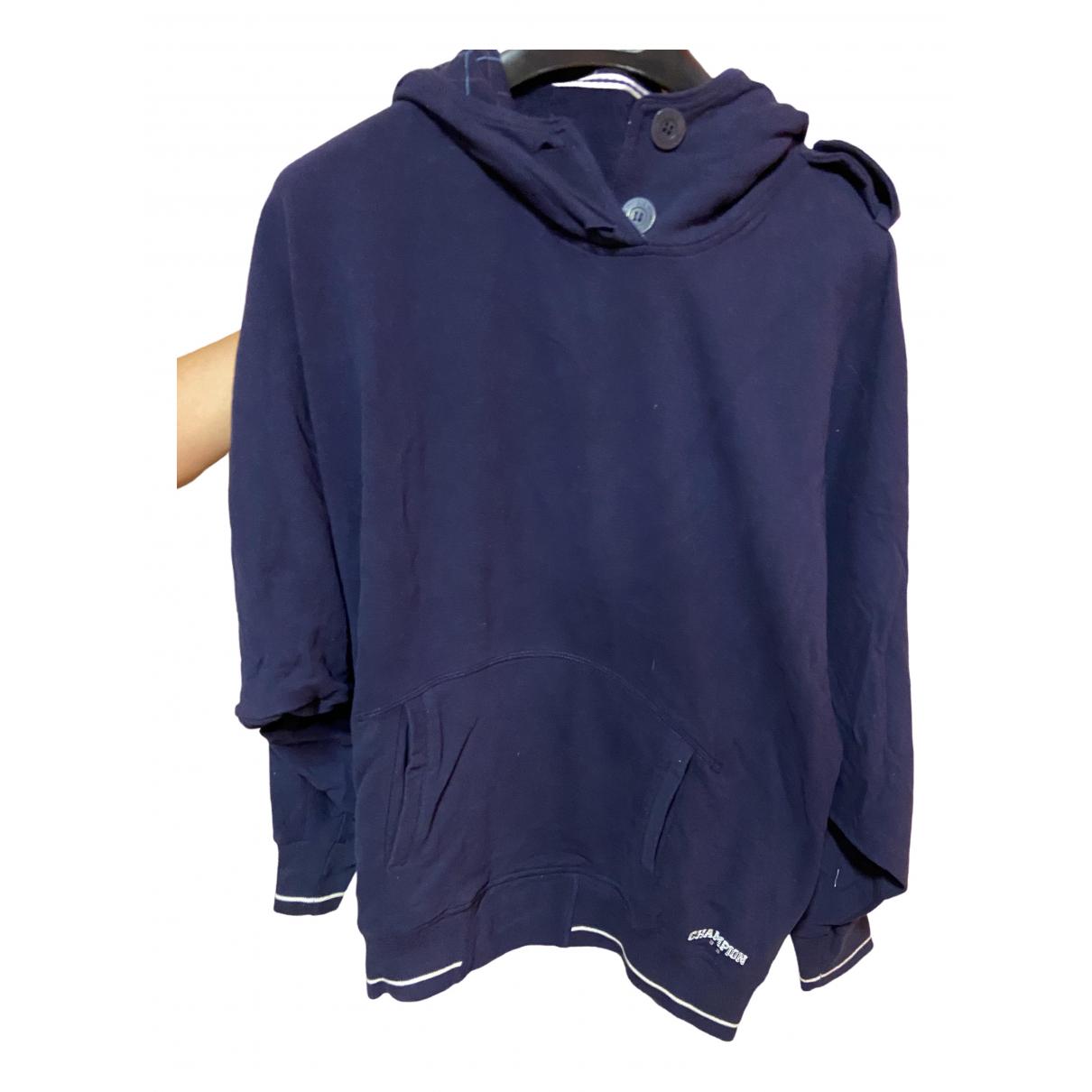 Champion - Pull   pour femme en coton - violet