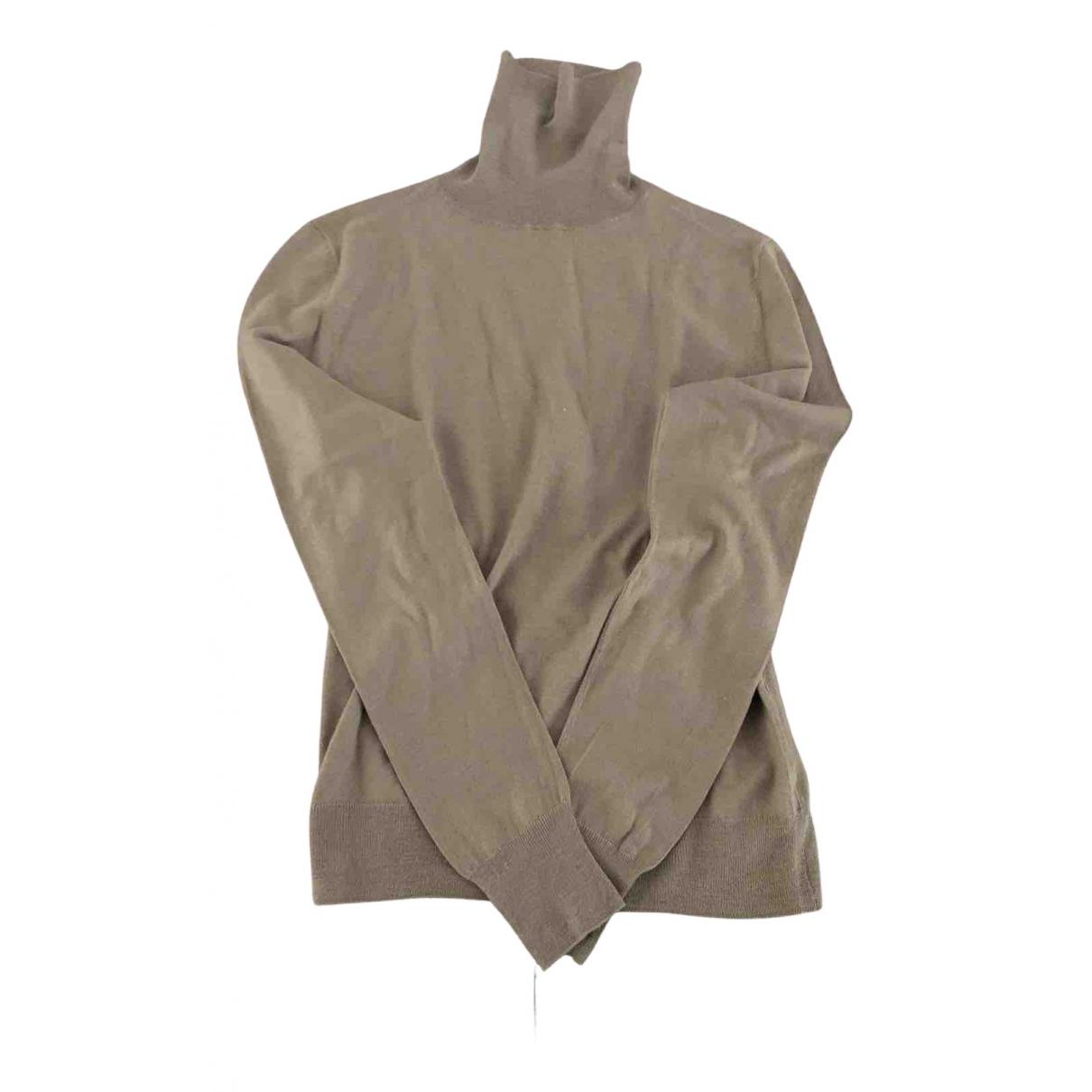 Neil Barrett \N Pullover.Westen.Sweatshirts  in  Beige Wolle