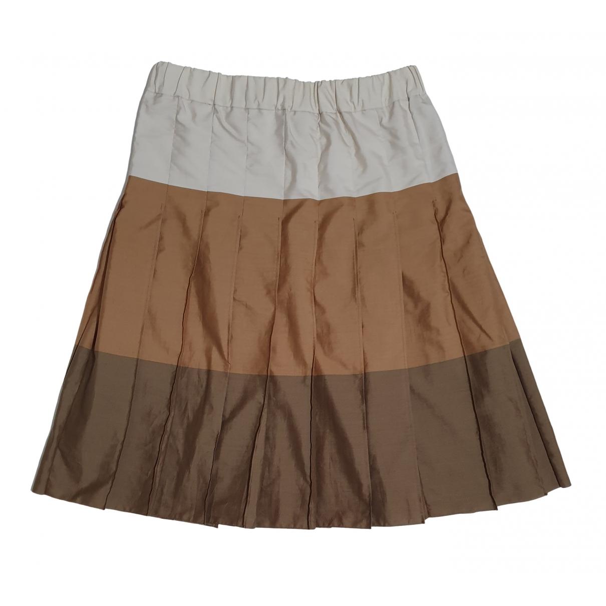 Marni - Jupe   pour femme en coton - marron