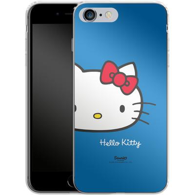 Apple iPhone 6 Plus Silikon Handyhuelle - Hello Kitty Closeup von Hello Kitty