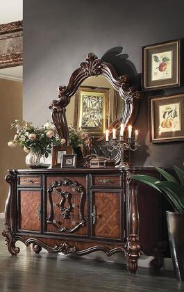 211052PC Versailles 2 PC Bedroom Set with Dresser and Mirror in Cherry