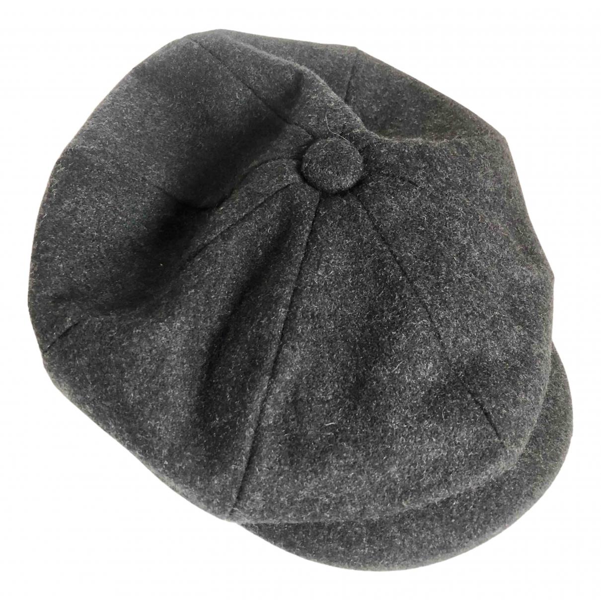 John Lewis - Chapeau & Bonnets   pour homme en laine - gris