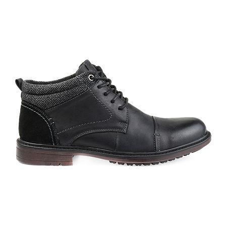 Vance Co Mens Draven Chukka Boots Block Heel, 11 Medium, Black