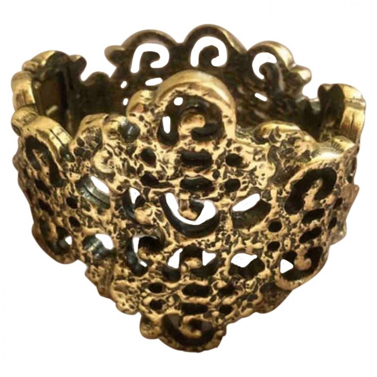 Oscar De La Renta - Bracelet   pour femme en metal - dore