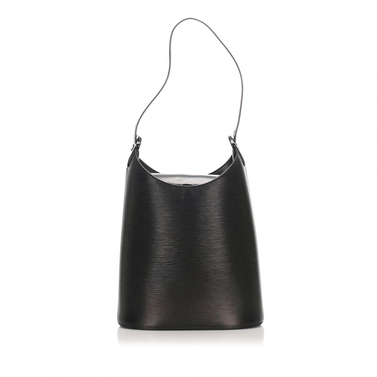 Louis Vuitton - Sac a main Verseau  pour femme en cuir - noir