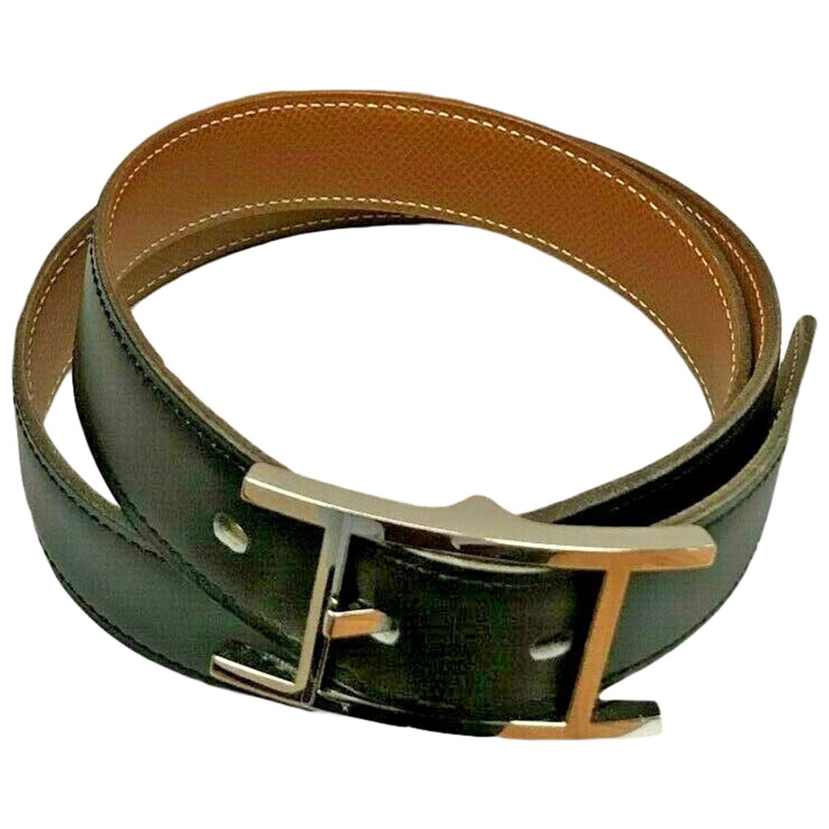 Cinturon Quentin de Cuero Hermes