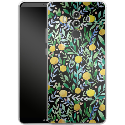Huawei Mate 10 Pro Silikon Handyhuelle - Bright Blossoms von Iisa Monttinen