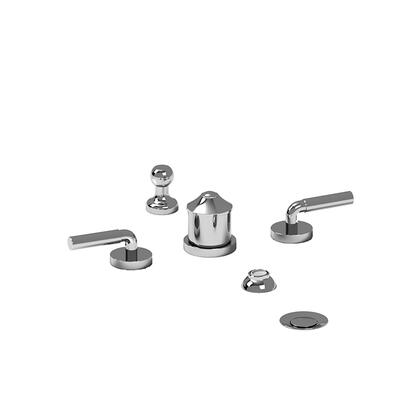 Riu RU09LC 4-Piece Bidet Faucet with Integrated Vacuum Breaker with Lever Handles  in