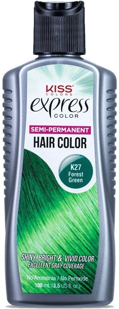 EXPRESS COLOR SIMI- PERMANENT HAIR COLOR - FOREST GREEN