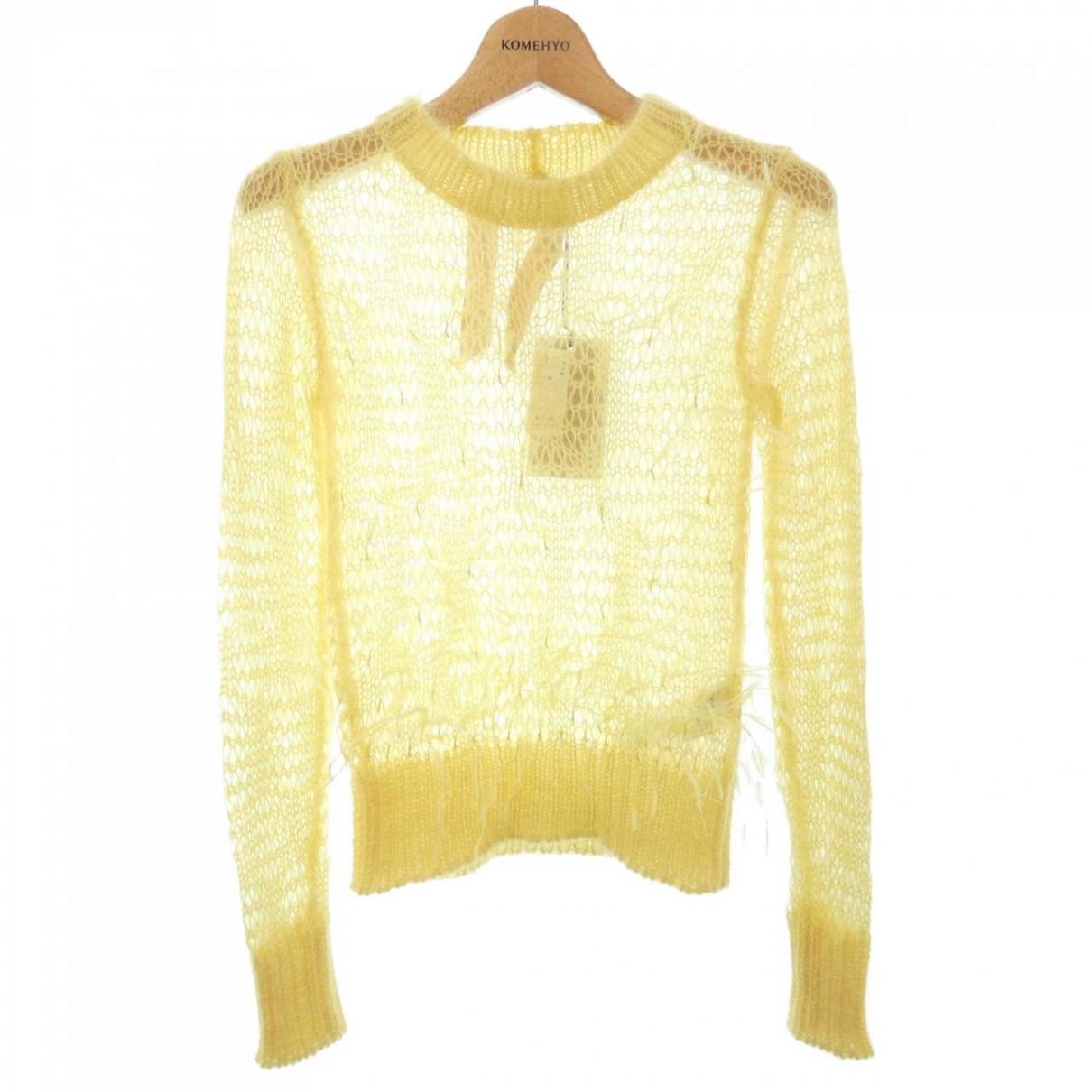 N°21 \N Pullover in  Gelb Wolle