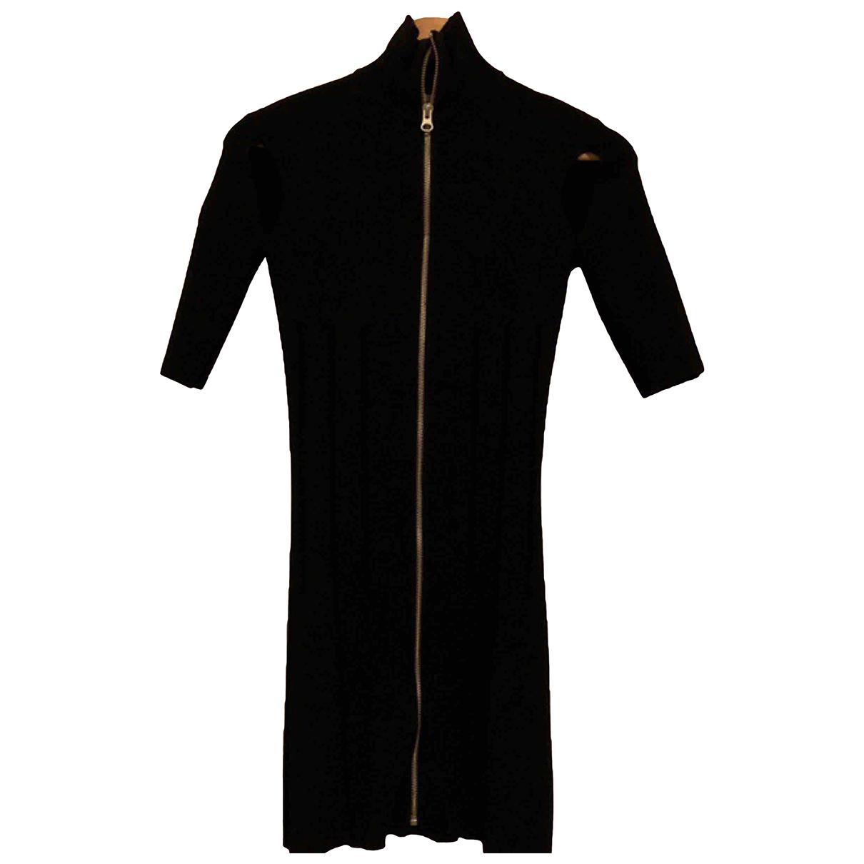 Mcq N Black Wool dress for Women 6 UK