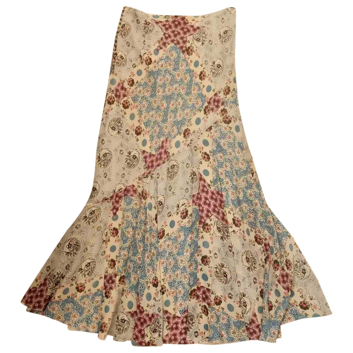 Falda maxi de Seda Dior