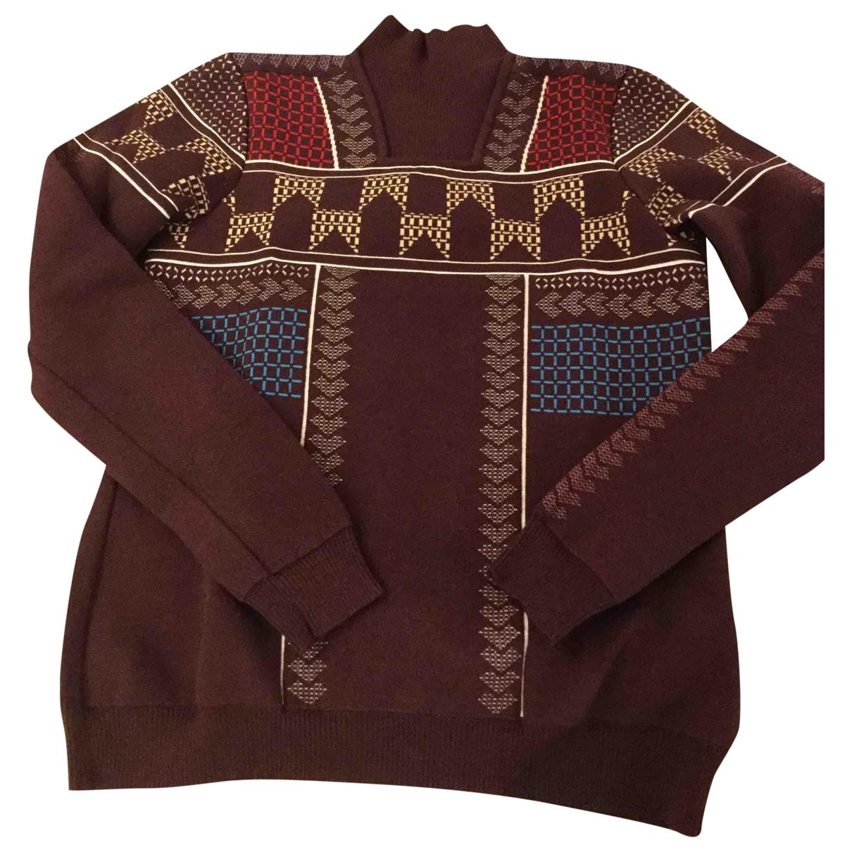 Peter Pilotto - Pull   pour femme en laine - bordeaux