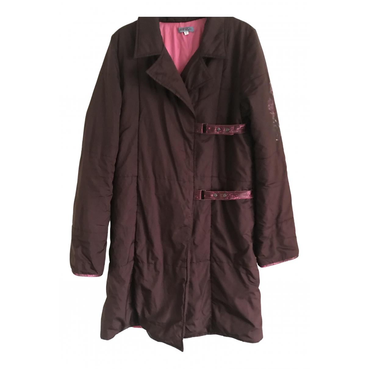Kenzo \N Jacke, Maentel in  Bordeauxrot Polyester