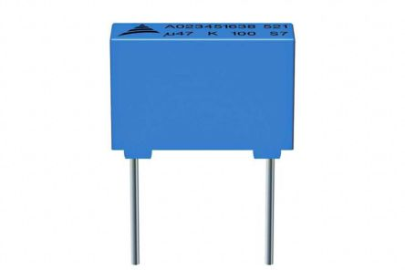 EPCOS 10nF Polyester Capacitor PET 200 V ac, 400 V dc ±10%, Through Hole (1000)