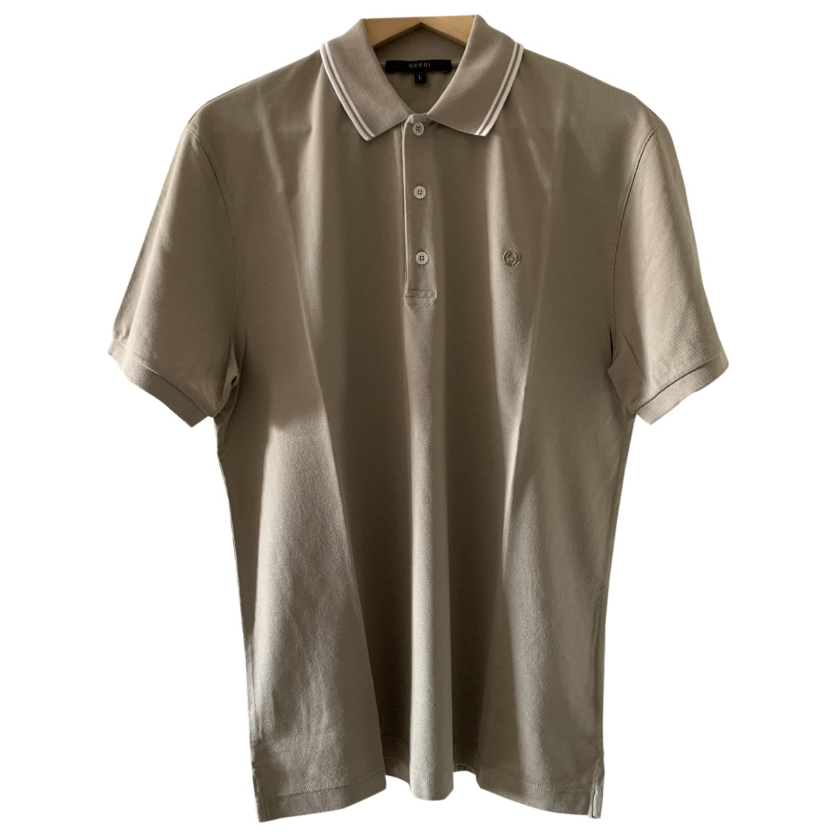 Gucci \N Grey Cotton Polo shirts for Men L International