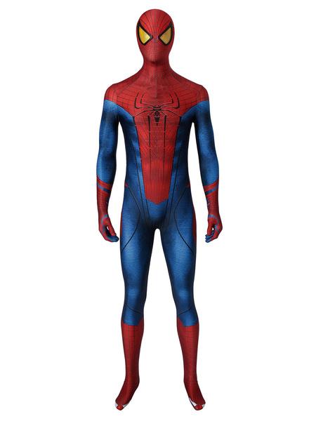 Milanoo Marvel Comics The Amazing Spider Man Spider Man Peter Parker Marvel Comics Cosplay Costume