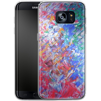 Samsung Galaxy S7 Edge Silikon Handyhuelle - Macro 6 von Gela Behrmann