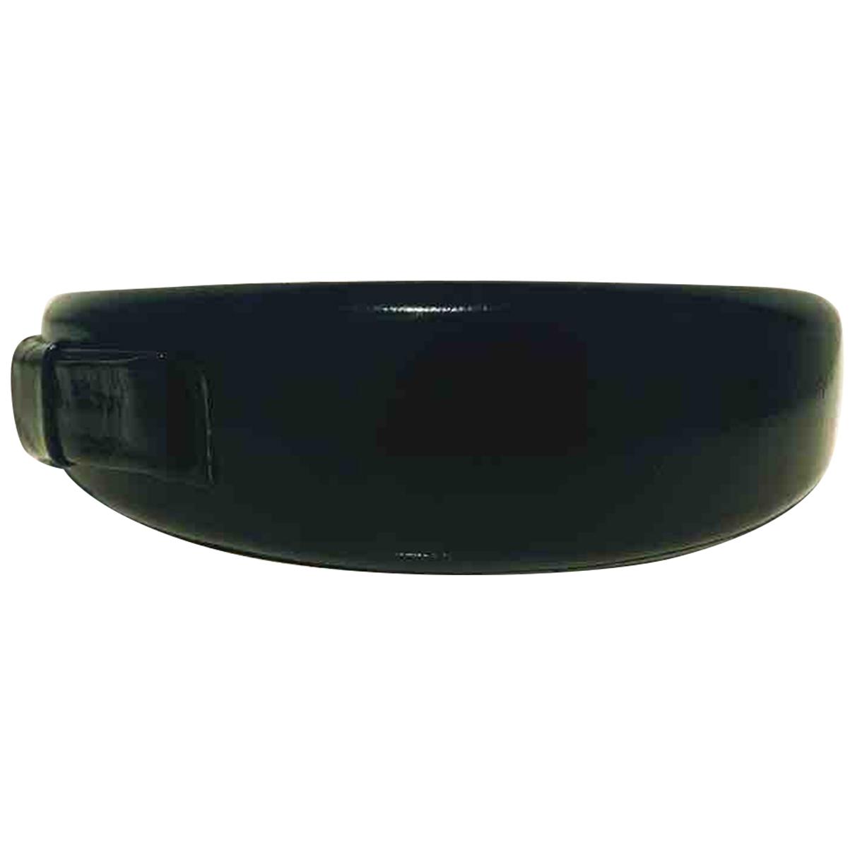 Miu Miu \N Khaki Leather Hair accessories for Women \N