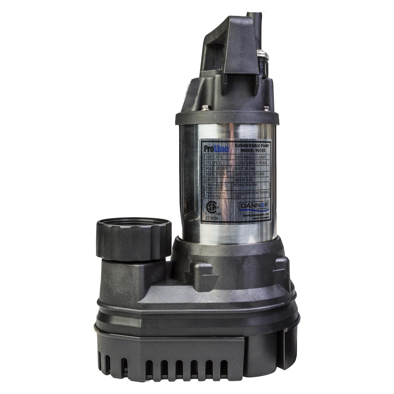 Danner ProLine High Flow Submersible Water Pump - Black