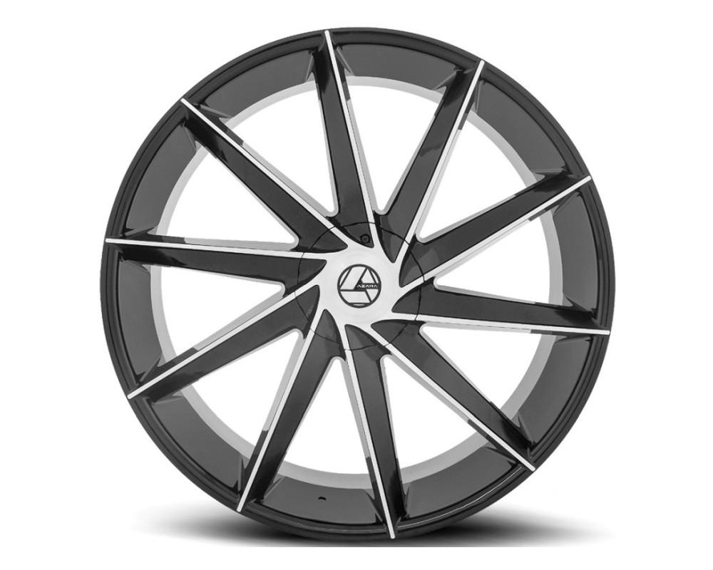 Azara 506 Wheel 18x8 5x112 5x114.3 35mm Gloss Black Machined