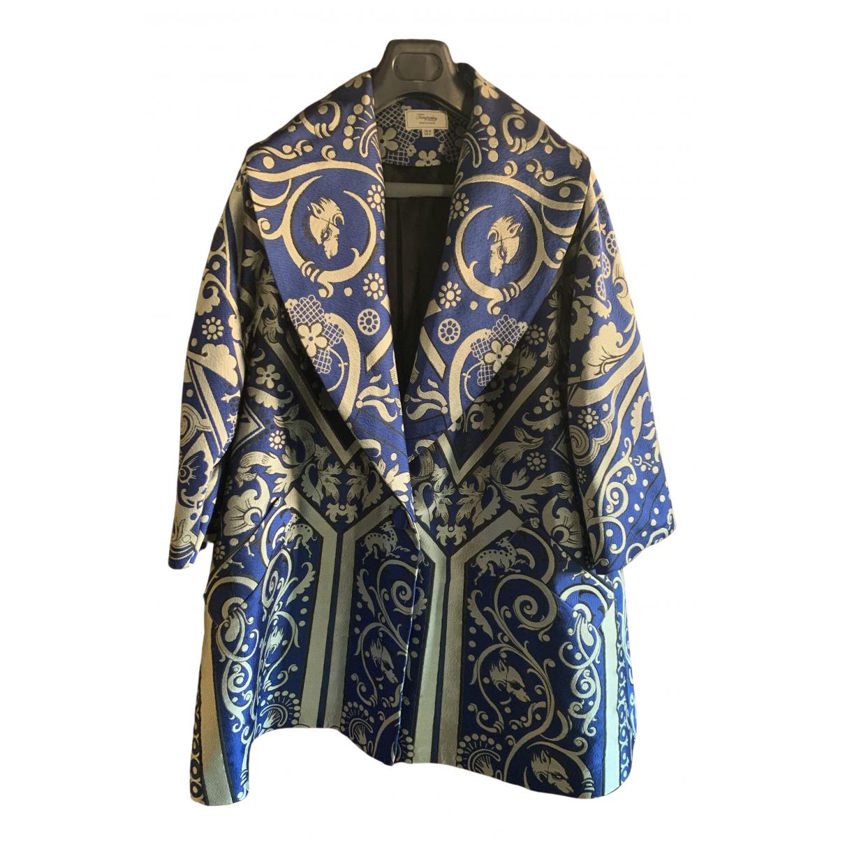 Temperley London \N Jacke in  Blau Polyester