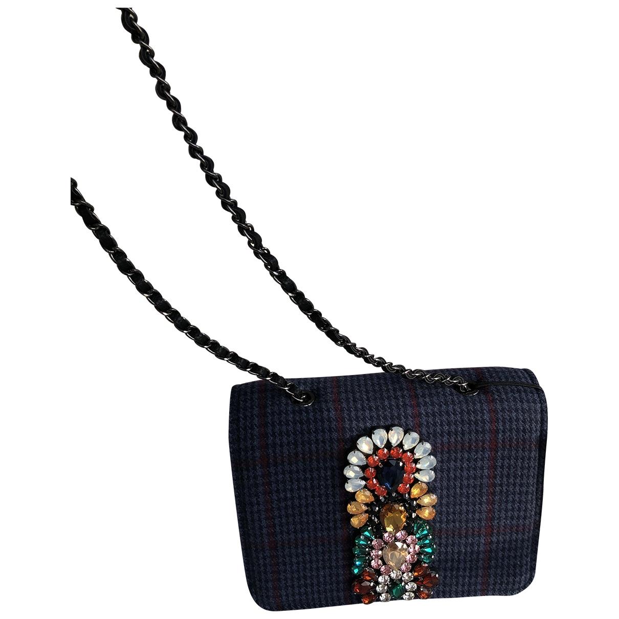 Essentiel Antwerp \N Blue Cloth handbag for Women \N
