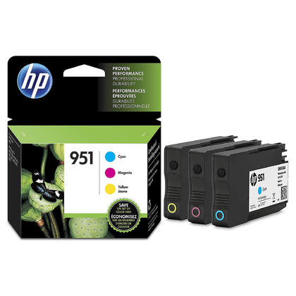 HP 951 CR314FN CN050AN CN051AN CN052AN Original Ink Cartridge Combo C/M/Y