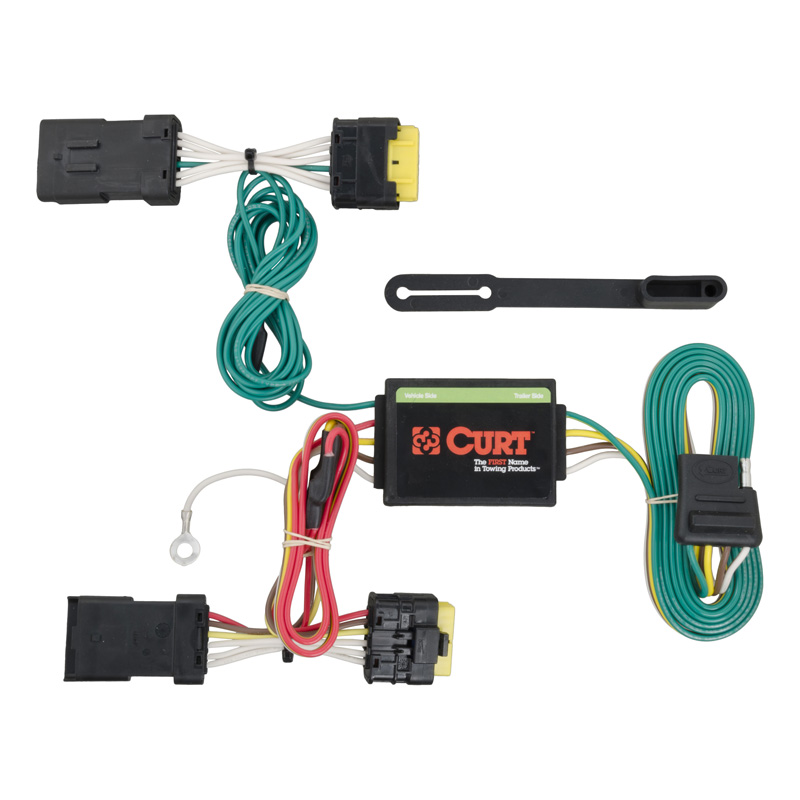Curt 56185 Custom Wiring Harness (4-Way Flat Output)