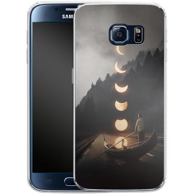Samsung Galaxy S6 Silikon Handyhuelle - Moon Ride von Enkel Dika