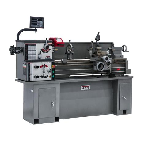 Jet Ghb-1340A Lathe with Acu-Rite 203 DRO Installed