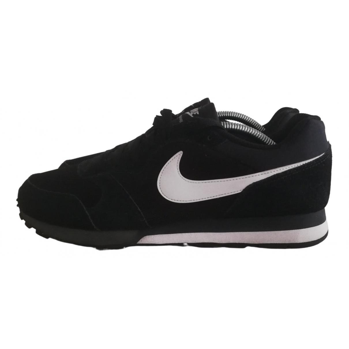 Nike N Black Cloth Trainers for Men 44.5 EU