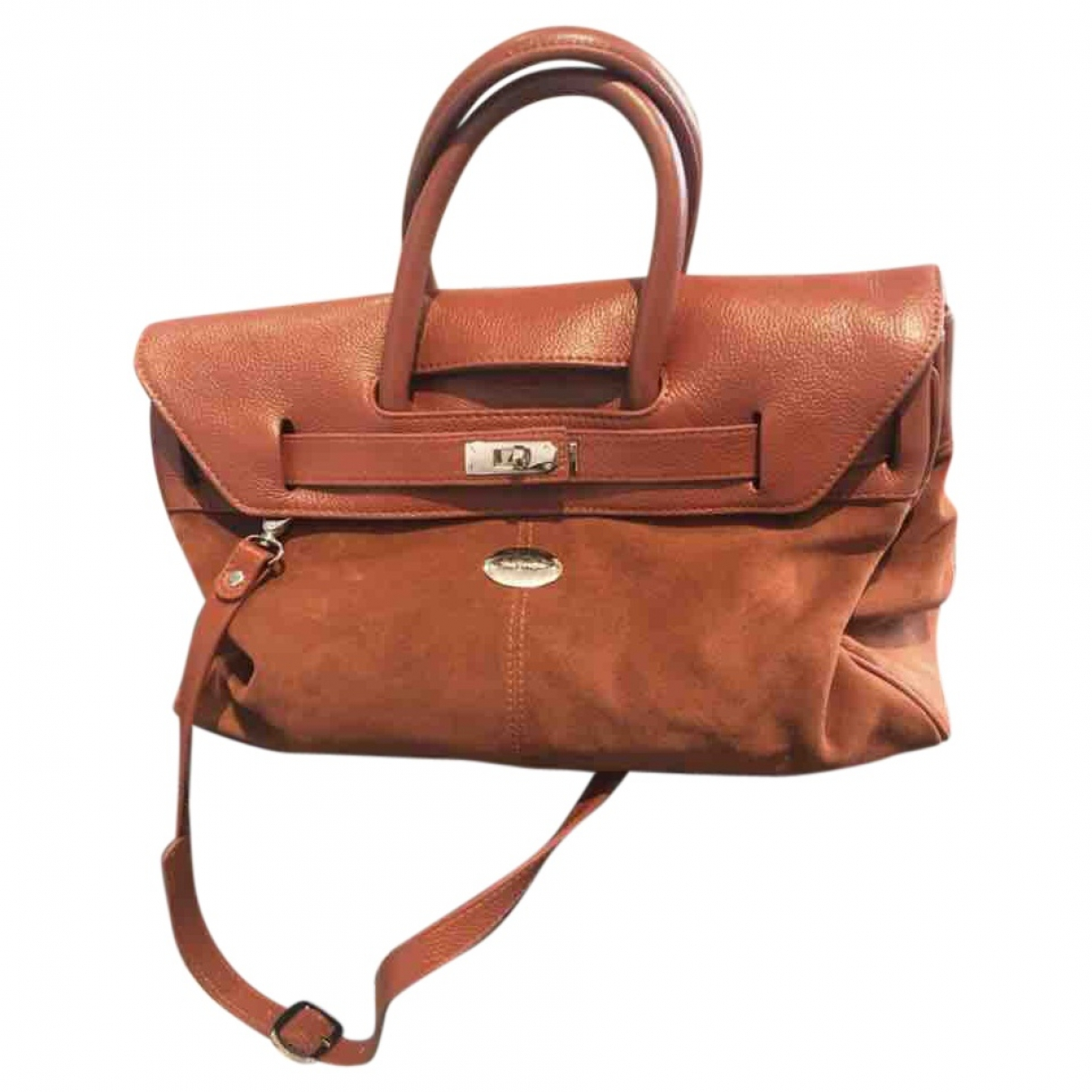 Mac Douglas \N Handtasche in  Kamel Leder