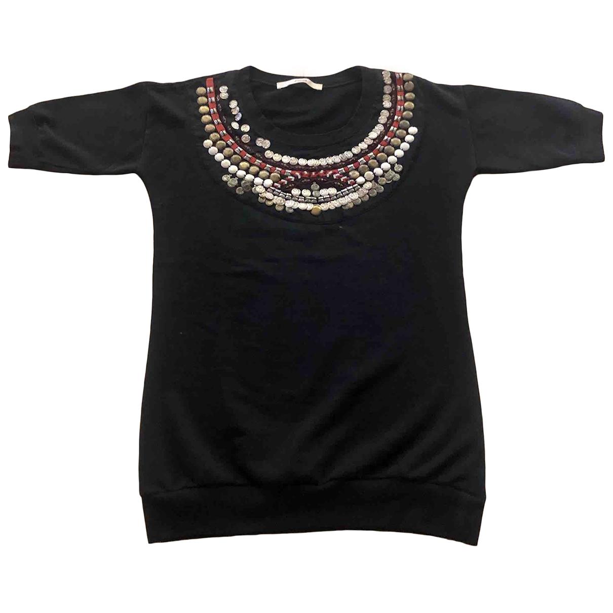 Jucca - Pull   pour femme en coton - noir
