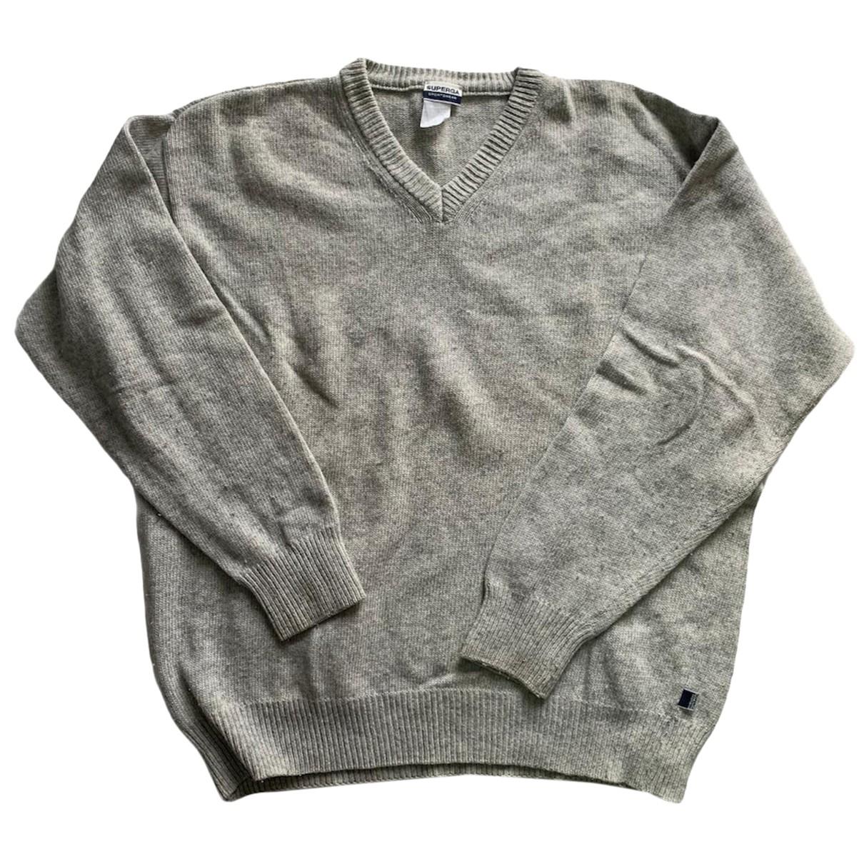 Superga N Grey Cotton Knitwear & Sweatshirts for Men XXL International