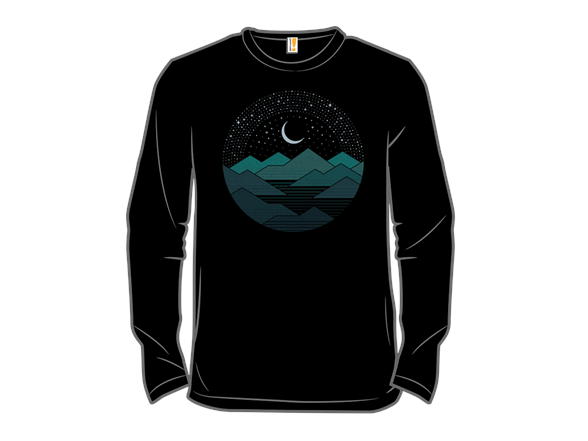 Between The Mountains And The Stars Long Sleeve Tee