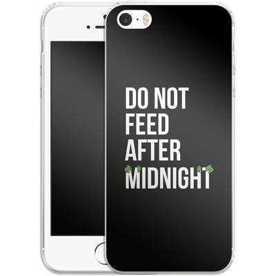 Apple iPhone SE Silikon Handyhuelle - After Midnight von caseable Designs