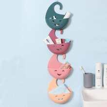 1pc Bathroom Random Color Hanging Basket