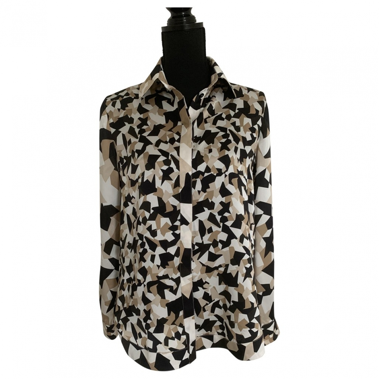 Givenchy \N Brown Silk  top for Women 40 FR
