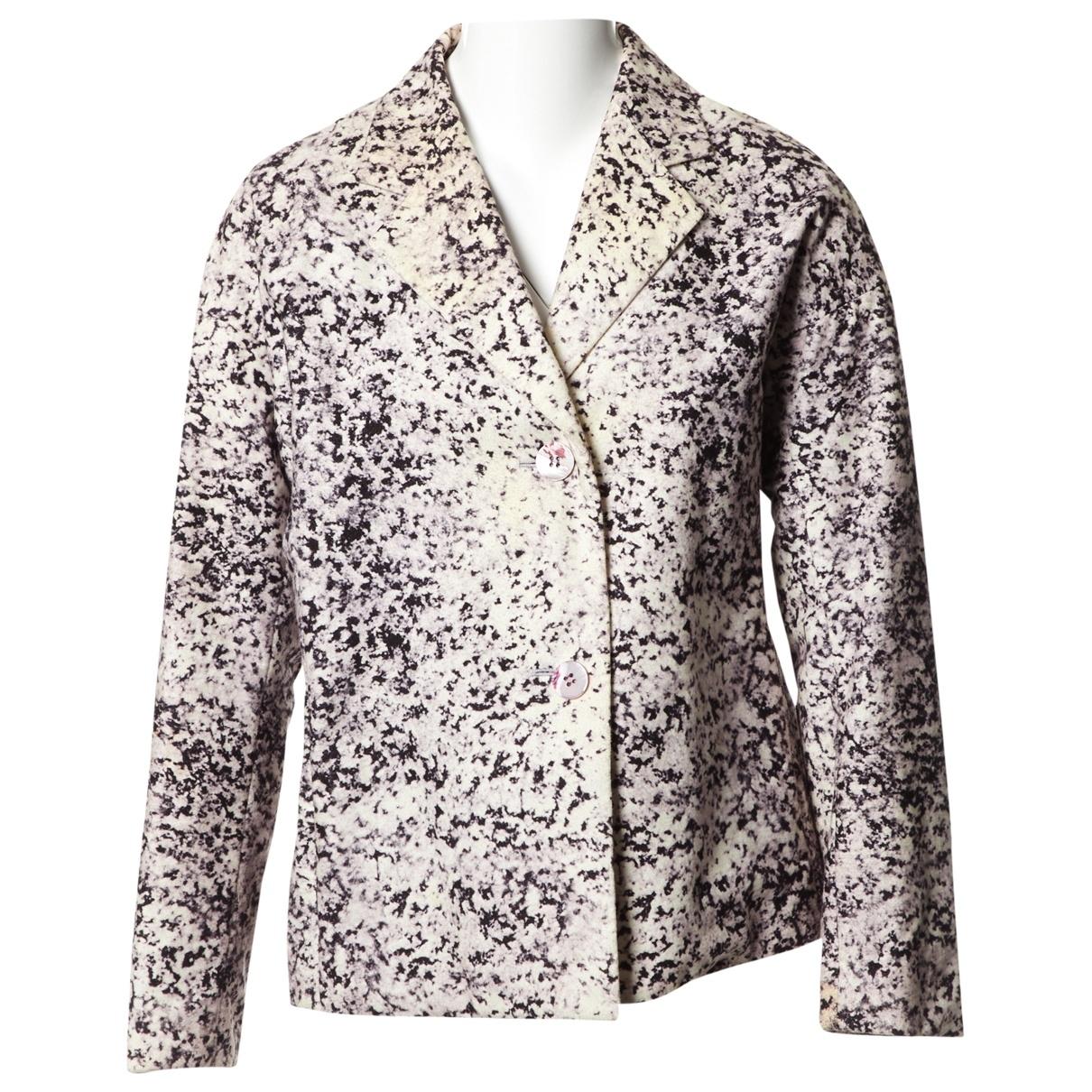 Issey Miyake - Veste   pour femme en coton - violet
