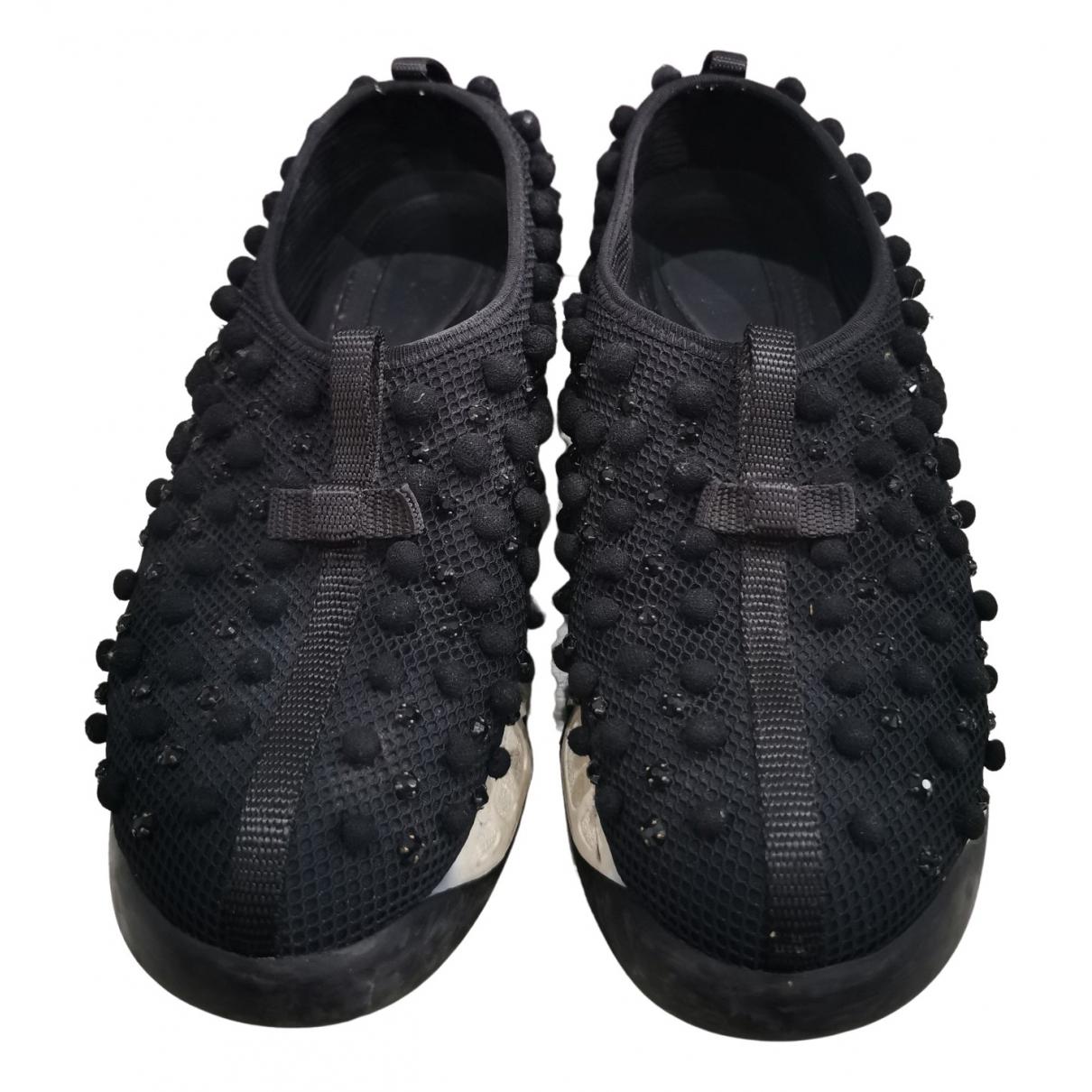 Dior Dior Fusion Sneakers in  Schwarz Leinen